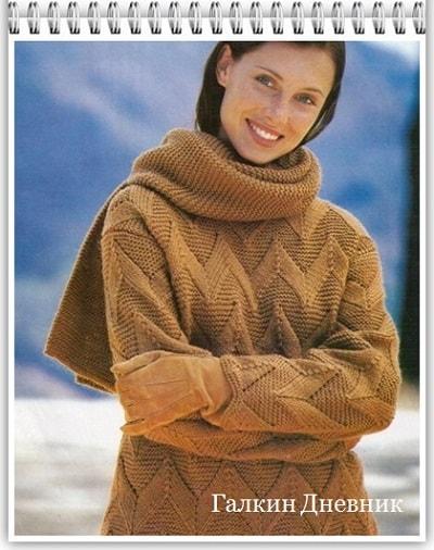 prostoi-uzor-spicami | strikking | بافندگی | dzianie | tricô | tricotare | การถัก