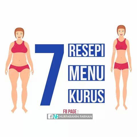 7 Resepi Menu Untuk Kurus