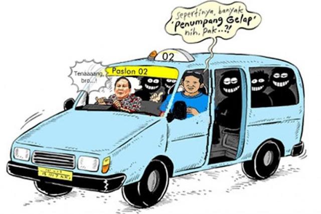 Penumpang Gelap Prabowo