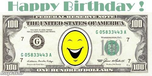 Mensagens feliz anivers rio for Dollar certificate template