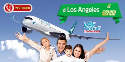 Ưu đãi đi Los Angeles từ Cathay Pacific