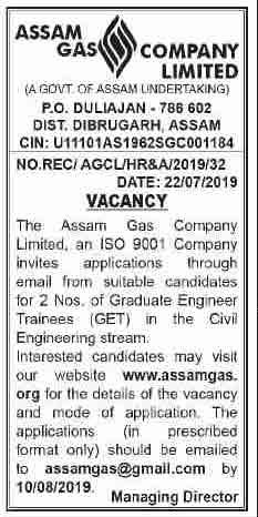 Assam-Gas-Company-Jobs