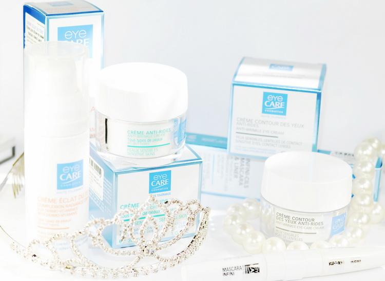 Eye Care Cosmetics Гипоаллергенная косметика для чувствительной кожи. антивозрастной крем. крем от морщик