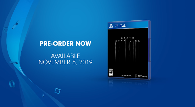 Death Stranding PlayStation 4 Pre-Order availaboe November 8 2019