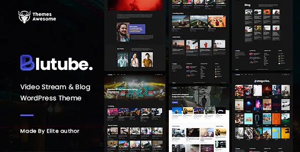 Best Video Stream & Blog WordPress Theme