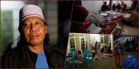 12 Foto Suasana Rumah Duka Omaswati, Diwarnai Raut Wajah Sedih dari Mandra Hingga Mastur