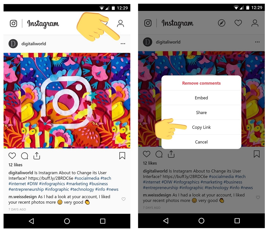 How to Save Photos From Instagram / Digital Information World