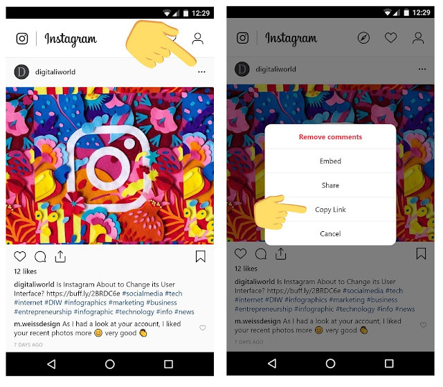 There's an easy trick for downloading photos from Instagram — here's how to do it