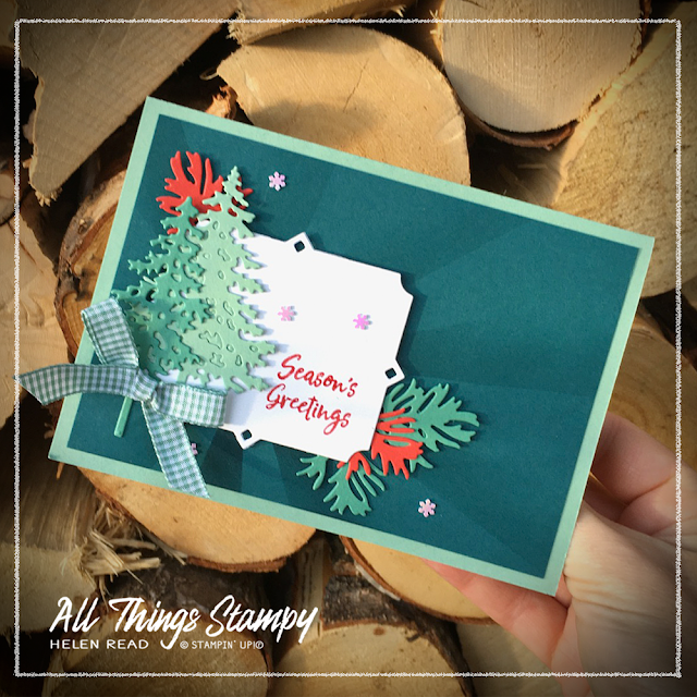 Pine Woods Stampin Up