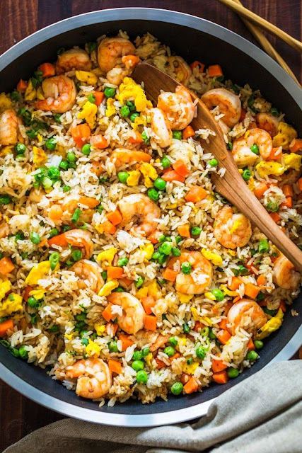 Shrimp and Fried Rice - 2