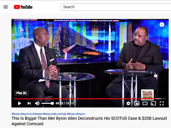 Roland Martin And Byron Allen