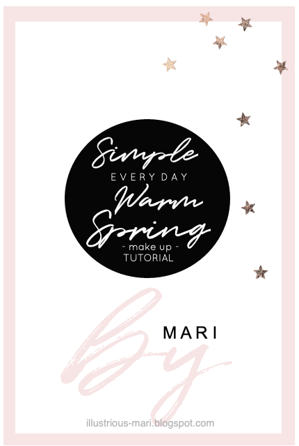Simple Everyday Warm Spring Make Up Tutorial