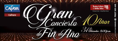 Gran Concierto de Fin De Año 2017 – 2018 Teatro Cafam