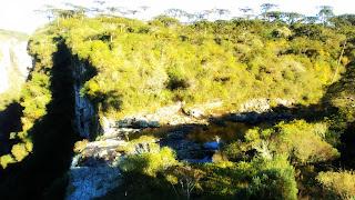 Arroio Preá Visto da Trilha do Vértice,  Parque Nacional de Aparados da Serra