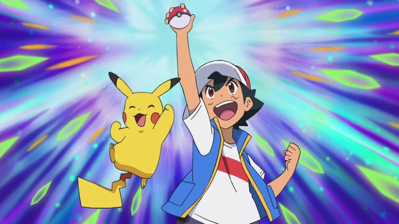 Ash Mestre Pokémon