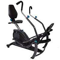 Teeter FreeStep Elliptical Recumbent Cross Trainer, total body workout with zero impact on joints