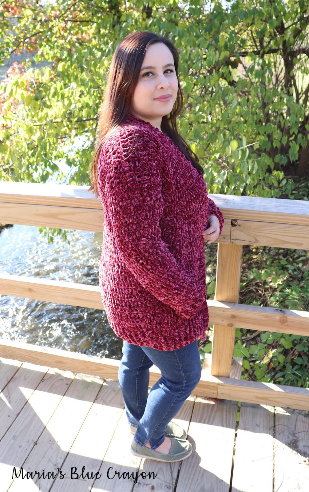 """0dcf7efc3 Something different I did this time around with pattern sizing for a  cardigan is adding heights to the sizes. I m 4 11"""" so I have always  calculated the ..."""