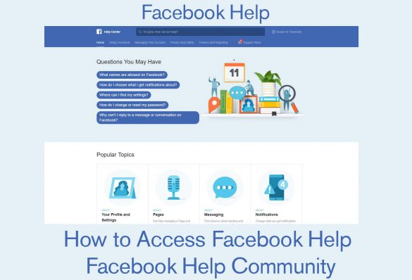 Facebook Help : Contact Facebook Help Center | Facebook Help Community