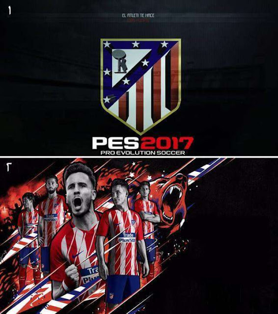 Atlético de Madrid Start Screen PES 2017