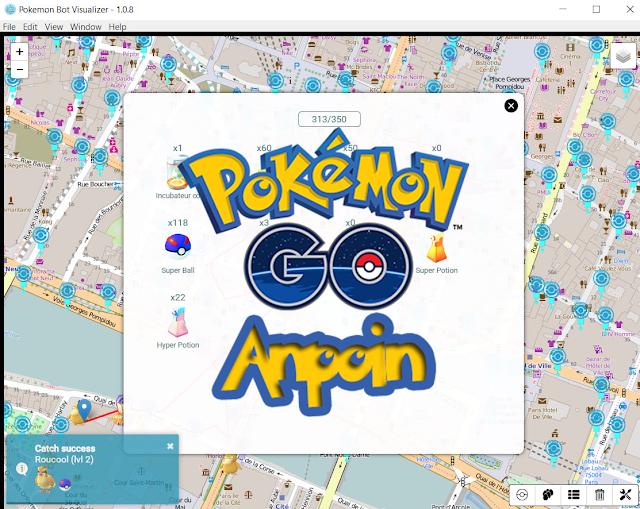 Cara Menggunakan NecroBot Visualizer, Cara Menggunakan Pokemon Bot Visualizer.