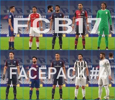 FIFA 18 Facepack v4 by FCB17