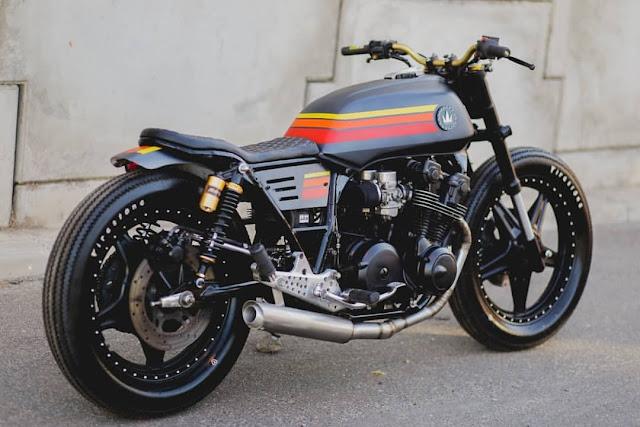 Honda CB750 By Lucky Custom Hell Kustom