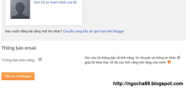huong dan cach tao blogspot chuan seo