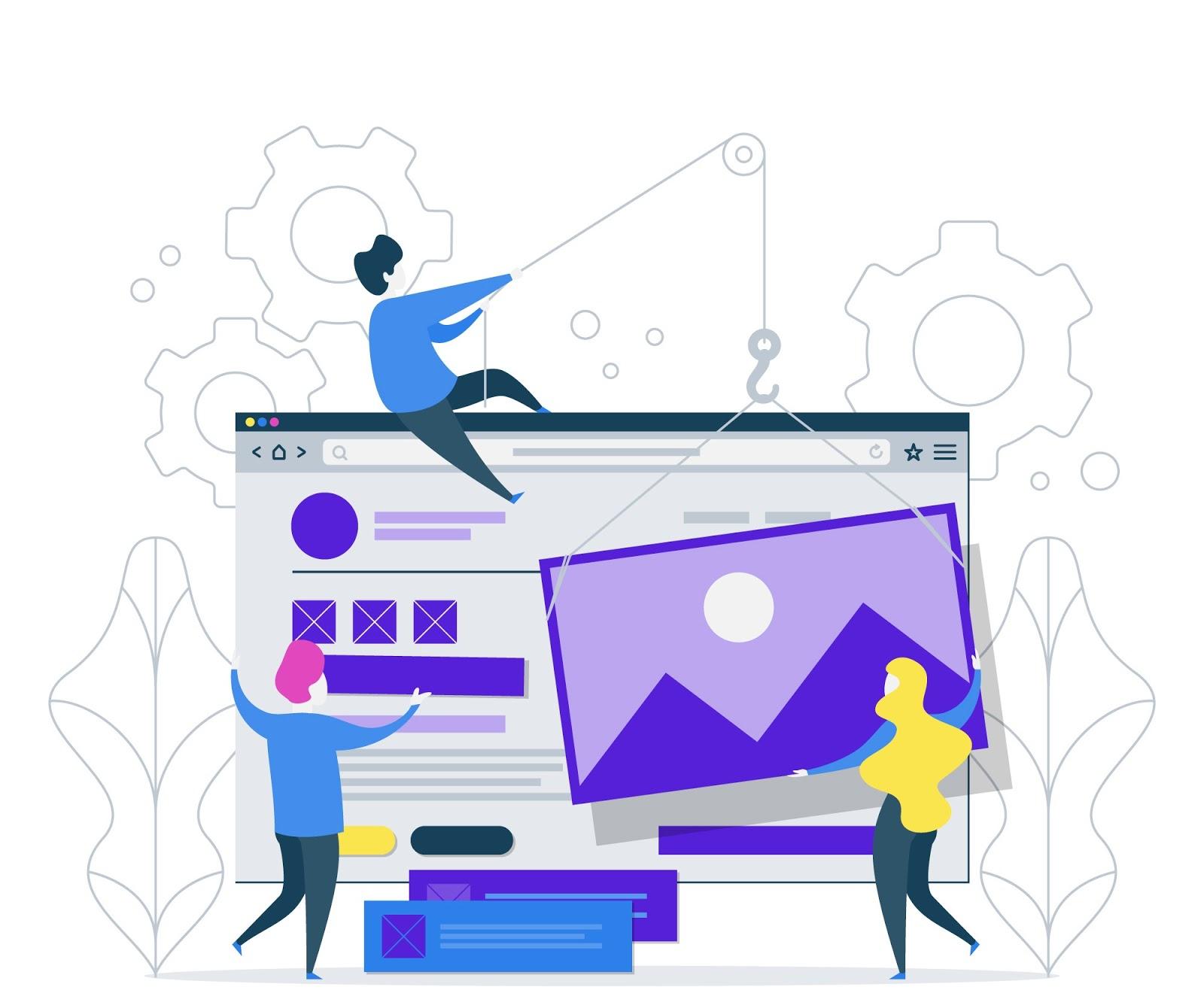 Pembuatan website online shop toko company profile usaha