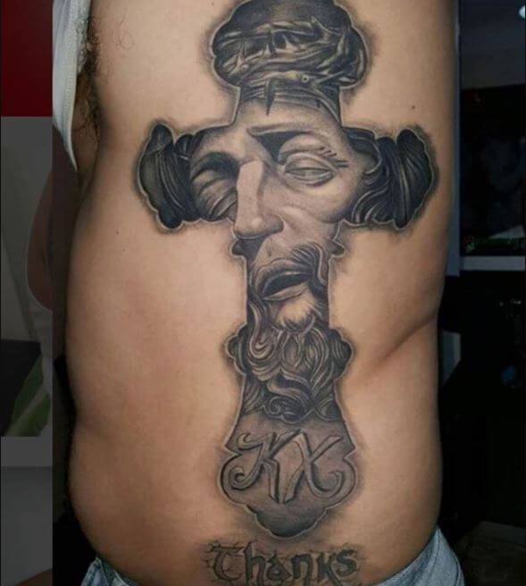 Christian cover up Tattoos