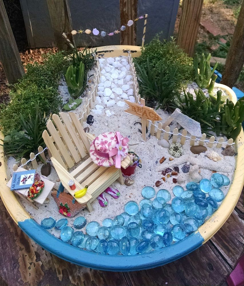 Edible Landscaping And Fairy Gardens: Miniature Garden Figures And Houses
