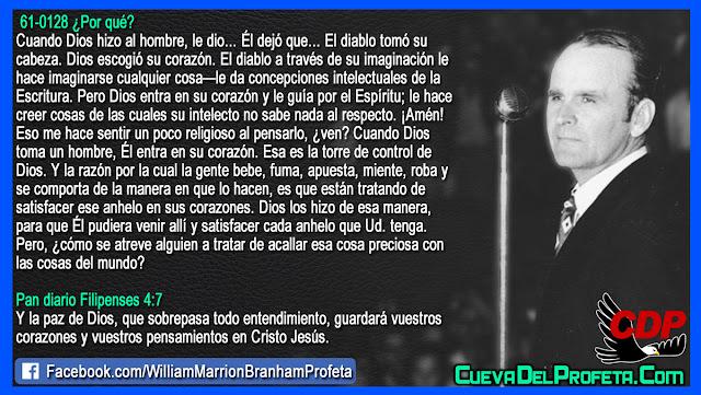 El diablo tomó su cabeza - William Branham en Español