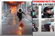 Narasi TV Berhasil Ungkap Wajah Asli Pembakar Halte Transjakarta, Beda Dengan Data Polisi