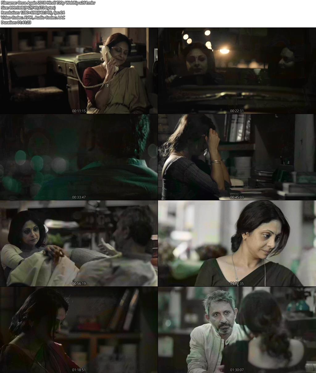 Once Again 2018 Hindi 720p WebRip x264 | 480p 300MB | 100MB HEVC x265 Screenshot