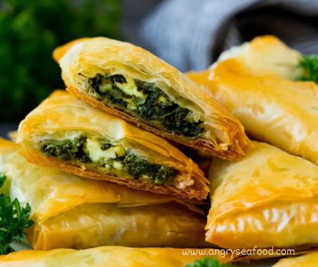 Homemade Spanakopita Recipe