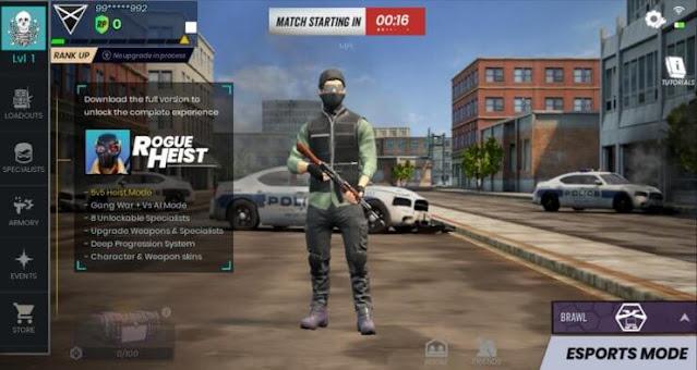 تحميل لعبة Rogue Heist منافسة PUBG للاندرويد والايفون