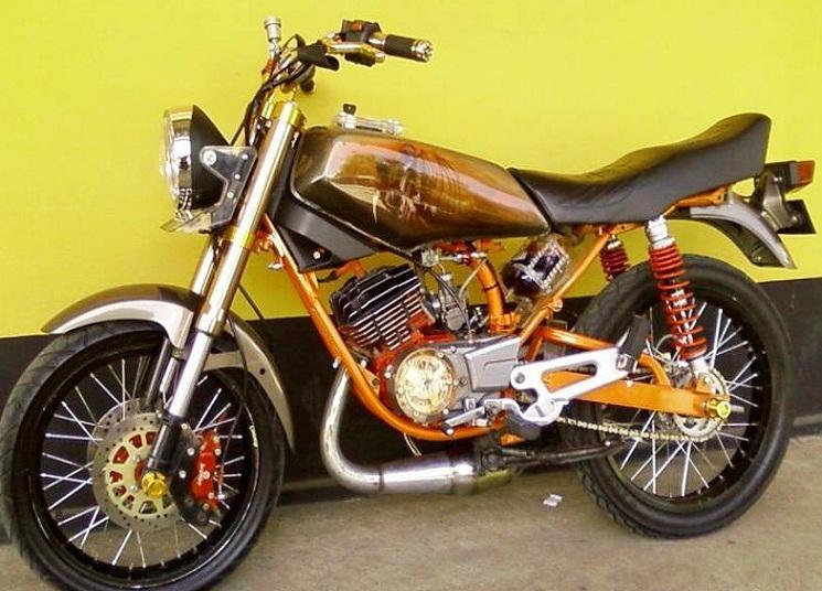contoh sepeda motor rx king modifikasi