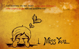 cute girl sketch crying with i miss you my love