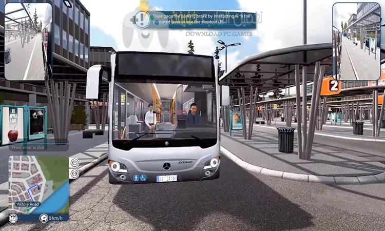 تحميل لعبة Bus Simulator 18 مضغوطة