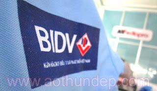 Áo Thun Đồng Phục Ngân Hàng BIDV Quảng Ngãi