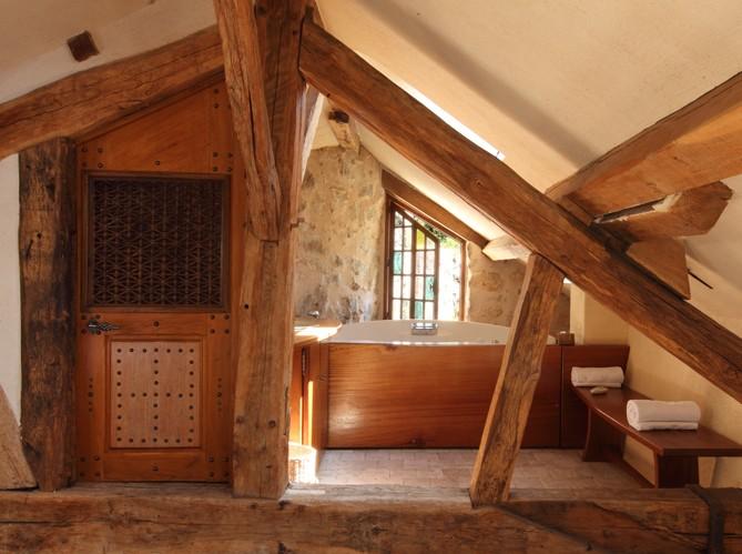 Vigas de madera viejas affordable vigas de madera o - Vigas de roble antiguas ...
