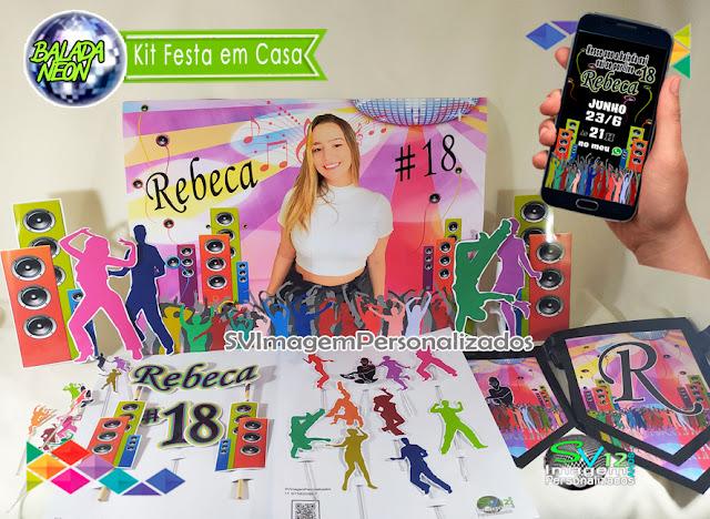 Festa Balada Neon dicas e ideias para decoração de festa personalizados