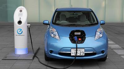 Alimentación coche eléctrico