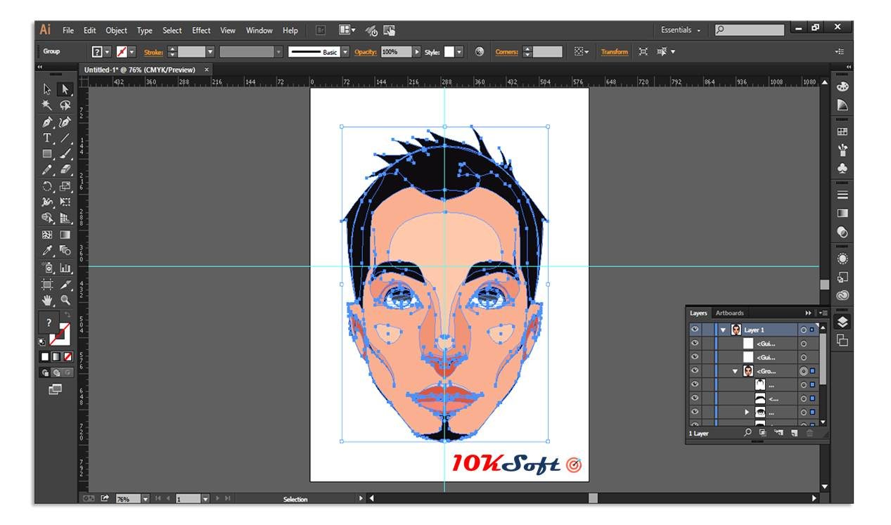 Adobe Illustrator CC 2017 Offline Installer Free Download