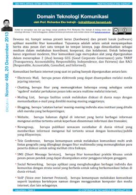Domain Teknologi Komunikasi
