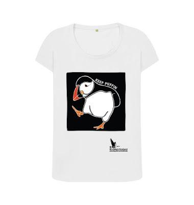 Puffin t-shirt Birdwatch Ireland
