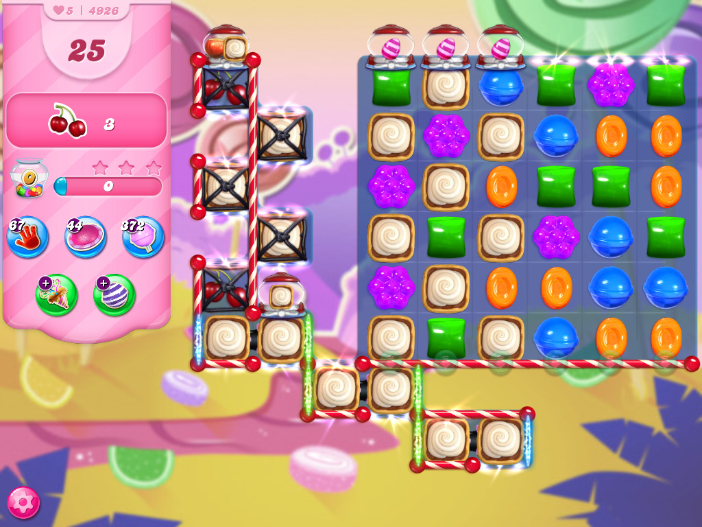 Candy Crush Saga level 4926
