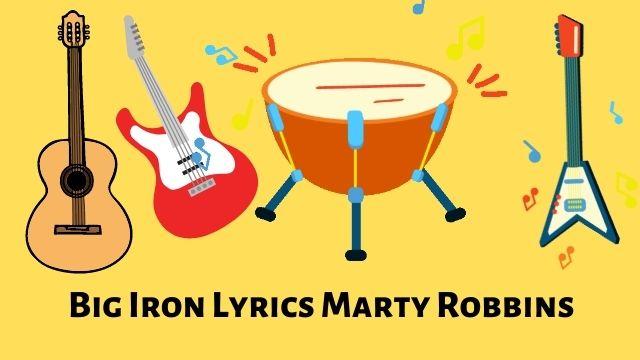 Big Iron Lyrics Marty Robbins