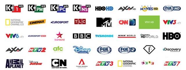 Danh Sách Kênh Truyền Hình Viettel TV