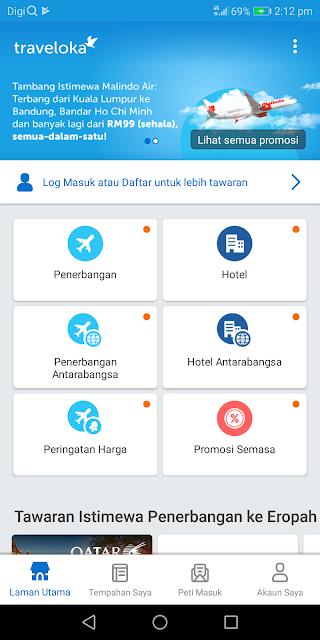 Menangi Percutian Ke Luar Negara Bersama Traveloka Fly & Win CNY Contest