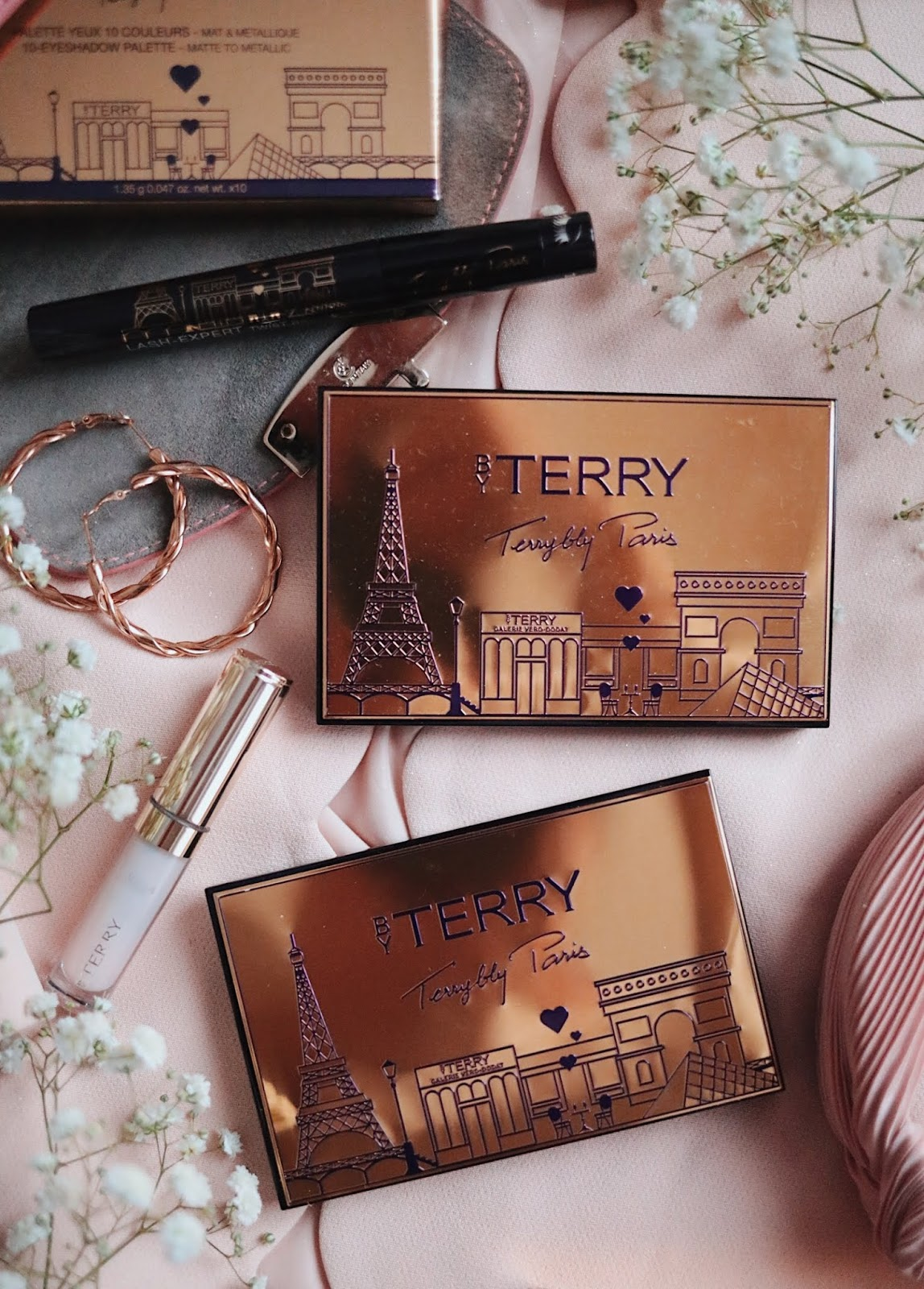 BY TERRY  , TERRYBLY PARIS , V.I.P EXPERT PALETTE  ,V.I.P EXPERT PALETTE LIGHT, V.I.P EXPERT PALETTE NIGHT ,, rosemademoiselle rose mademoiselle ,blog beauté , paris